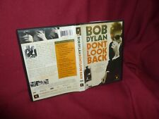 Bob Dylan Don't Look Back DVD NM-