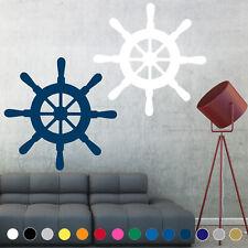 Ship Wheel Decal Sticker Sailing Ocean Sail Boat Wall Art Room House Decor v1