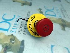 TELEMECANIQUE ZB2-BE103 MUSHROOM HEAD RED EMERGENCY STOP PUSH BUTTON