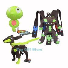 """3pcs Zygarde Core 10% Perfect Form 7-13"""" Poke Plush Doll Stuffed Toy New"""