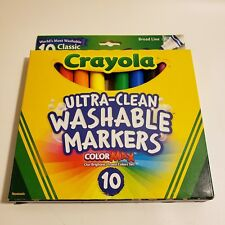 Crayola Ultra clean Broad line Classic Washable Markers (10 Count)