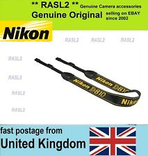 Genuine Nikon Neck Strap Official An-dc12 for D810