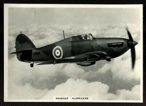 Ardath, REAL PHOTOGRAPHS OF MODERN AIRCRAFT, XLarge, 1939, Hawker Hurricane, #14
