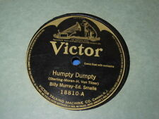Billy Murray & Ed. Smalle - Humpty Dumpty / In The Old Town Hall - Victor 18810
