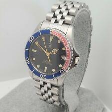 SANDOZ 1950-d-77-2 Automatic 100M diver swiss watch 25Jewels ETA 2824-2