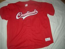St.Louis Cardinals RETIRED #6 STAN MUSIAL XL/2XL Jersey,UNIQUE LOOK & GREAT GIFT
