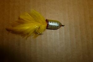 VINTAGE HEDDON 910 XRY WILDER-DILG SPOOK FLY ROD COLLECTIBLE FISHING LURE