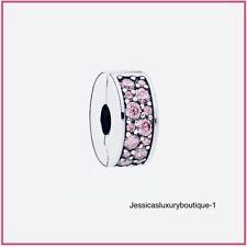 Pandora Shining Elegance Clip, Sterling Silver .925  Pink CZ, 791817PCZ