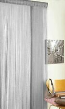 Glitter Grey String Window Door Curtains Panel Doorways Divider Bug Fly Screen
