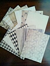 12 Halloween Themed A2 Card Making Fronts/Toppers 1 Sided Print Kraft Cardstock