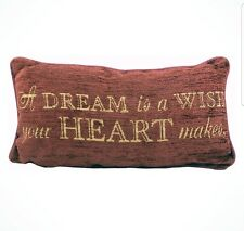 Disney Parks Cinderella A Dream Is A Wish Your Heart Makes Pillow Throw