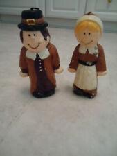 Set of Thanksgiving Pilgrims Wax Candles 6� x 3 ½� x 2�