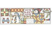 "Home Sweet Home Christmas Cross Stitch Kit - Janlynn (14.5"" x 4.5"")"