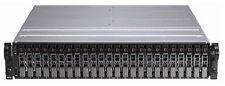 "Dell PowerVault MD1120 2U 24 bay 2.5"" SAS Storage Array 2 x contr 2xP  24 x cadd"