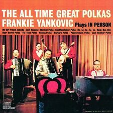 Plays In Person The All Time Great Polkas by Frankie Yankovic