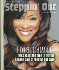 STEPPIN OUT LOT - ROBIN GIVENS COVER - 2 DIFFERENT COVERS + MACY GRAY + LIT