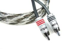 KnuKonceptz Karma Twisted Coaxial Pair 2 Channel OFC RCA Cable 20ft 6M