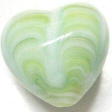 4 Pieces Lampwork Heart Glass Beads - 20mm - A4199