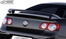 RDX alerón VW Passat b6 3c parte trasera alas Heck alerón alas atrás Tuning
