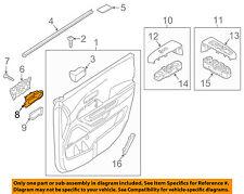 KIA OEM 15-18 Sedona Front Door-Handle Bezel Left 82611A9000GBU
