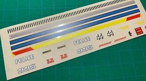 Custom Stickers for MOC Blade Runner Spinner Police Car