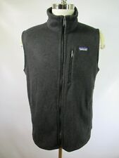 E6775 PATAGONIA Better Sweater Full-Zip Fleece Vest Size XL
