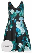 Knee Length Floral Dresses for Women with Fit & Flare