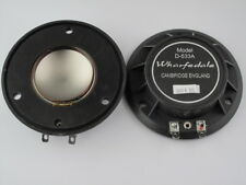 Replacement Speaker Diaphragms for Wharfedale D-533a - 8 Ohms X 2 Speaker Parts