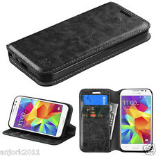 Samsung Galaxy Prevail LTE G360 Core Prime Folio Flip Pouch Case w/Sta
