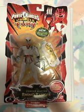 Power Rangers Jungle Fury White Master RHINO Ranger New Factory Sealed 2008