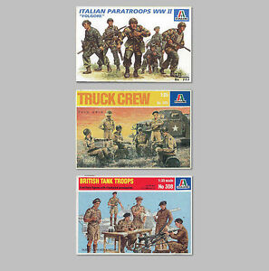 ITALERI kit figures pack - 1:35