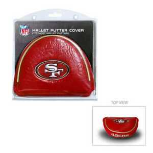 NFL San Francisco 49ers Mallet Putter Cover Golf Headcover Course Club Bag