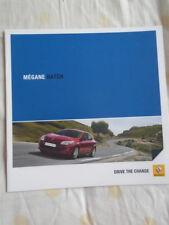 Renault Megane Hatch brochure Nov 2010 South African market