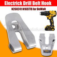 Electric Cordless Drill Belt Hook/Clip for DeWalt N268241 N169778 N086039 DCD980