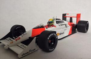 Rare LANG 1:12 Ayrton Senna McLaren MP4/4 1988 World Champion