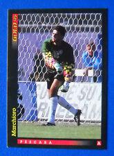 CALCIO CARDS SCORE GOLD 93 - NUOVI ARRIVI - n. 29 - MARCHIORO - PESCARA