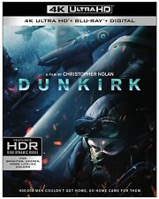 Dunkirk 4K (used) Blu-ray ** No Cover Art, No case