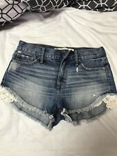 abercrombie and fitch Jean Shorts - Size W26
