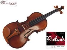4/4 Antique Violin/Boxwood Fitting/ Bow/Case/Rosin/Shoulder Rest/Prelude String