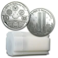 1 Ounce Silver Coin 2001 Remember Twin Towers
