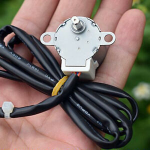 Mini 24MM Stepper Motor DC 12V 4-Phase 5-Wire 24BYJ Motor DIY Intelligent Toilet