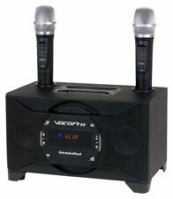 VocoPro Tablet/Smart TV Karaoke System w/ Dual Wireless Mics - KaraokeDual