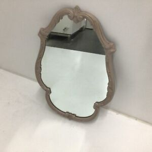 Shabby Chic Wooden Framed Mirror Upcycle #129