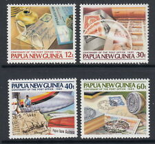 Papua New Guinea 1985 Post Office Centenary set & souvenir sheet