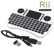 Rii Ergono i8 2.4GHz wireless keyboard with Touchpad for PC android TV Window OS