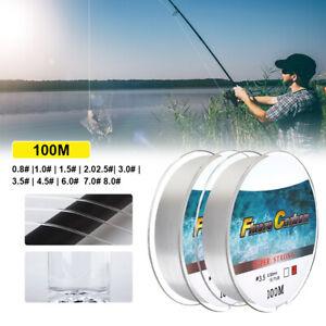 100M 4-34LB Carbon Coating Fly Fishing Line Wear-resistant Fluorocarbon Carp