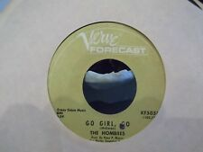 45!   THE HOMBRES GO GIRL GO / LET IT OUT ON VERVE RECORDS