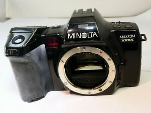 Minolta 7000i Camera body only 35mm film SLR - untested sold AS found AS IS part