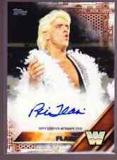 2016 Topps WWE Wrestling RIC FLAIR Auto 03/50 Bronze Superstar Autograph