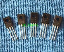 10pcs NEW BD139 NPN TRANSISTOR 1.5A 80V TO-126